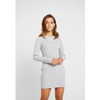 Missguided Petite HIGH NECK DRESS 2 PACK Sukienka z dżerseju grey/black M0V21C07V