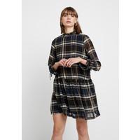 Vero Moda VMNORA HIGH NECK SHORT DRESS Sukienka letnia ombre blue/nora VE121C1W6