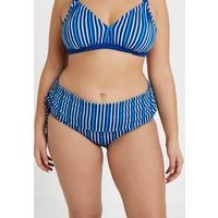 JUNAROSE by VERO MODA Dół od bikini monaco blue/strip JR481I008
