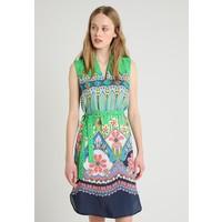 Emily van den Bergh Sukienka letnia green/pink EV821C008