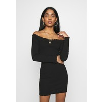 Missguided LETTUCE MINI DRESS 2 PACK Sukienka letnia camel/black M0Q21C1JH