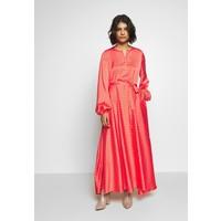 Cras MONO DRESS Długa sukienka orange CRG21C00B