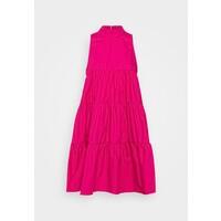 Missguided POPLIN SLEEVELESS TIERED SMOCK DRESS Sukienka letnia pink M0Q21C1LW