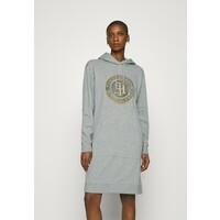 Tommy Hilfiger HOODIE DRESS Sukienka letnia light grey heather TO121C0C1