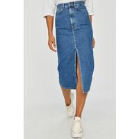 Answear Lab Spódnica jeansowa -100-SDD03S