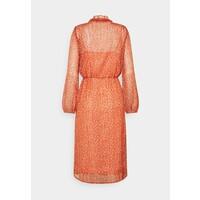 Saint Tropez XELINA DRESS Sukienka letnia red orange/puff sky S2821C0AE