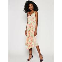 Guess Sukienka letnia W1GK1C WCUN0 Kolorowy Regular Fit