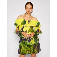 Guess Sukienka letnia Blumenprint W0YK68 WDOV0 Kolorowy Regular Fit