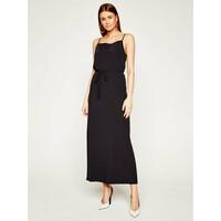 Calvin Klein Sukienka codzienna Cami K20K201839 Czarny Regular Fit