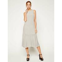 Calvin Klein Sukienka codzienna Monogram K20K201841 Beżowy Regular Fit