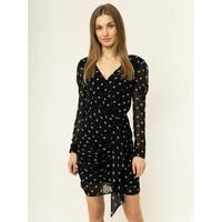 Guess Sukienka letnia W01K74 WCLS0 Czarny Slim Fit