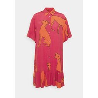 PS Paul Smith WOMENS DRESS Sukienka koszulowa pink/orange PS721C02M