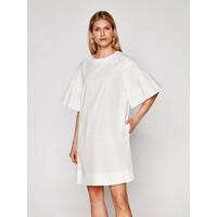Weekend Max Mara Sukienka codzienna Pacos 52212211 Biały Regular Fit