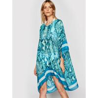 Liu Jo Beachwear Sukienka plażowa VA1032 T0300 Niebieski Relaxed Fit