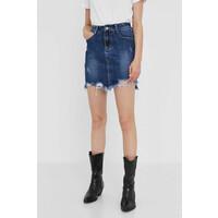 Answear Lab Spódnica jeansowa -110-SDD02W