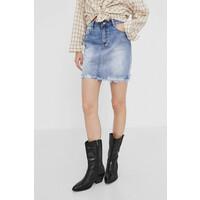 Answear Lab Spódnica jeansowa -110-SDD02U