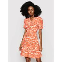 Calvin Klein Sukienka letnia K20K202962 Pomarańczowy Regular Fit