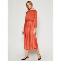 Weekend Max Mara Komplet sukienka letnia i sweter Aidone 53210317 Pomarańczowy Regular Fit