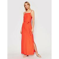 Calvin Klein Sukienka letnia Cami K20K201839 Pomarańczowy Regular Fit