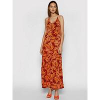 Maaji Sukienka letnia 1617CLD003 Pomarańczowy Regular Fit