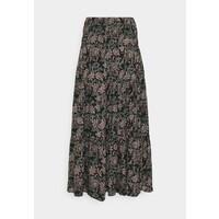 b.young LONG SKIRT Długa spódnica black mix BY221B03Q