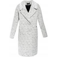 Monnari Wełniany płaszcz z fakturą COT0370