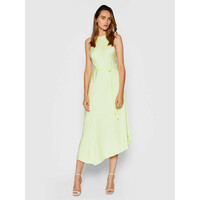 Calvin Klein Sukienka codzienna Shine K20K203066 Zielony Regular Fit