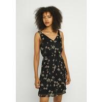 Vero Moda VMWONDA NEW SINGLET SHORT DRESS Sukienka letnia black/eliza VE121C294