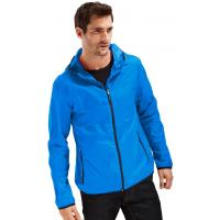 Tchibo Męska kurtka przeciwdeszczowa »Pack Me«, niebieska 400064869