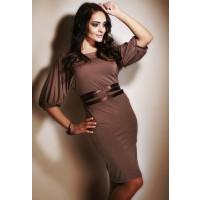 Sukienka Figl M003 mocca