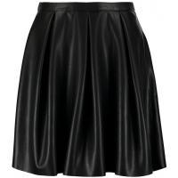Vero Moda VMEVER BUTTER Spódnica plisowana black VE121B08U-Q11