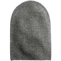 H&M Dzianinowa czapka 0311294001 Szary melanż