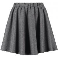 Selected Femme SFLAURA Spódnica plisowana dark grey melange SE521B01T-C11