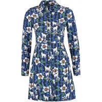 Topshop Sukienka koszulowa blue TP721C0BC-K11