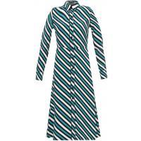 Topshop IVY LEAGUE Sukienka koszulowa green TP721C0BZ-M11