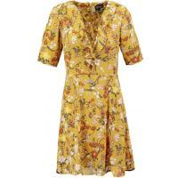 Topshop SECRET GARDEN TEA Sukienka letnia mustard TP721C0CA-E11