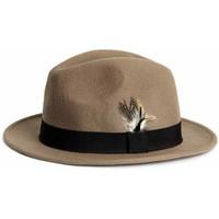 H&M Wełniany kapelusz 0315519001 Ciemnobeżowy