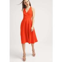 Warehouse Sukienka koktajlowa orange WA221C08B