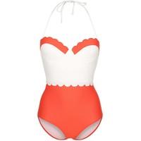 Topshop Kostium kąpielowy red TP781D008