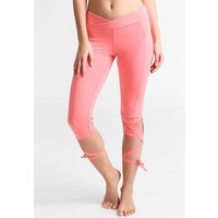 Free People TURNOUT Legginsy pink FP041E001