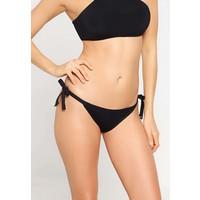 Seafolly BRAZILIAN TIE SIDE Dół od bikini black S1981D050