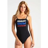 adidas Performance Kostium kąpielowy black/blue AD581D00Z