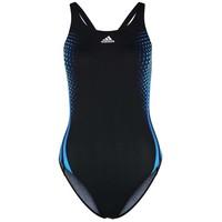 adidas Performance Kostium kąpielowy black/blue AD541H022