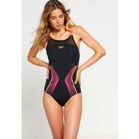 Speedo Kostium kąpielowy black/pyscho red/global gold 1SP41H01W