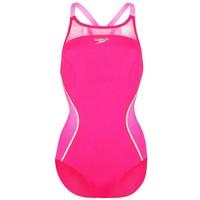 Speedo Kostium kąpielowy magenta/fluo pink/global gold 1SP41H01W