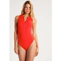 Calvin Klein Swimwear CHEEKY Kostium kąpielowy red C1181D004