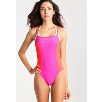 Speedo LUNA VISION Kostium kąpielowy electric pink/lava 1SP81D00C