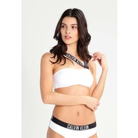 Calvin Klein Swimwear INTENSE POWER Góra od bikini white C1181D006