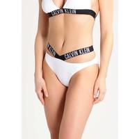 Calvin Klein Swimwear INTENSE POWER Dół od bikini white C1181D001