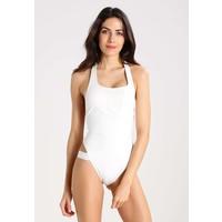 Calvin Klein Swimwear Kostium kąpielowy white C1181D00L